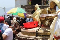 Dorje in Tempelanlage Swayambhunath