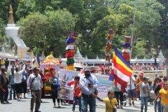 Festzug in Swayambhunath