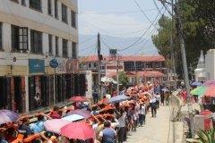 Festzug durch Kathmandu