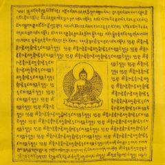 Medizinbuddha Gebetsfahne wird bei Krankheit verwendet