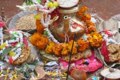 Ritualplatz des Brahmanen