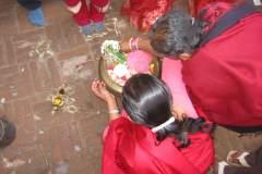 Erster Haarschnitt - Chudakarana - Die Zeremonie beginnt