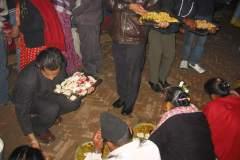 Erster Haarschnitt - Chudakarana - Festmahl - Nachspeise Rettich mit Erbsen und Orangen