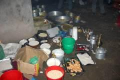 Erster Haarschnitt - Chudakarana - Festmahl - Übriges Essen