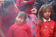 Erster Haarschnitt - Chudakarana - Biraj und seine Cousine