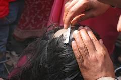 Erster Haarschnitt - Chudakarana - Kopfrasur