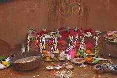 Erster Haarschnitt - Chudakarana -  Altar