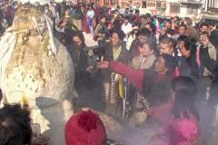 Lhosar (Tibetisches Neujahrsfest) - Räucherofen
