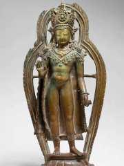 Gekrönter Buddha (MET Museum)