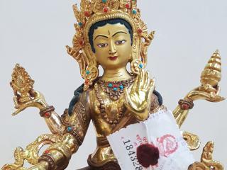 Lakshmi Figur mit Export Siegel
