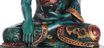 Akshobhya Ausschnitt vom Schoß