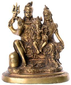Ganesha mit Eltern