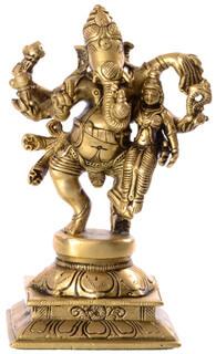 Ganapati mit Lakshmi