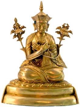 Karmapa Statue