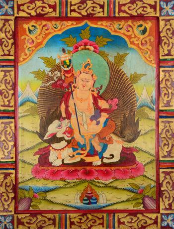 Kloster Thangka Jambhala