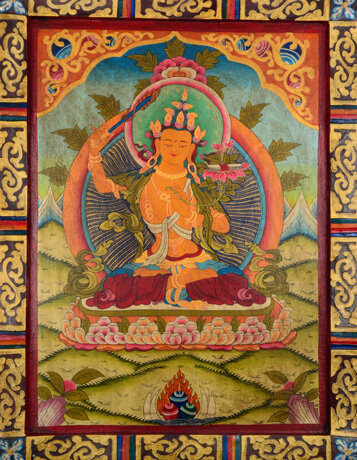 Kloster Thankga Manjushri