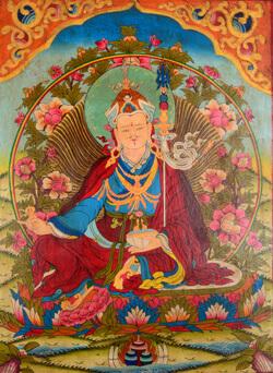 Kloster Thangka Padmasambhava