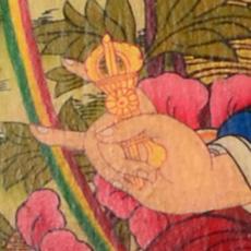 Padmasambhava Detail Dorje
