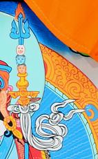 Padmasambhava Detail Khatvanga (Tantrastab)