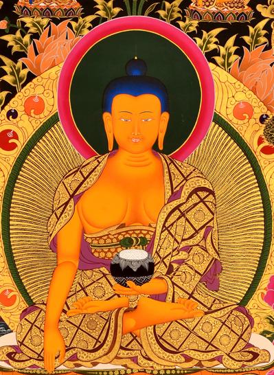 Thangka Shakyamuni Buddha