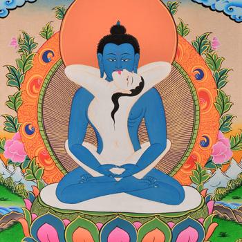Thangka Adibuddha Samantabhadra