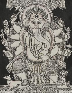 Thangkha Bhuvanesa-Ganapati