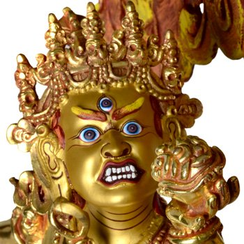 Vajra Dakini Statue Vollfeuervergoldet