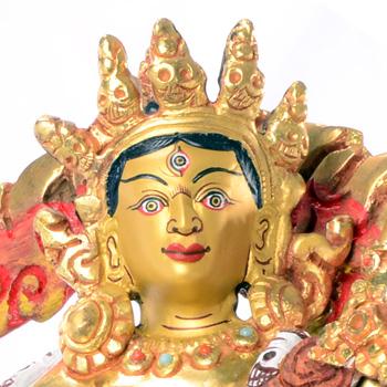 Vajra Yogini Statue Vollfeuervergoldet