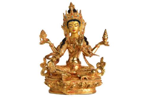 Lakshmi Göttin des Glücks und Reichtums