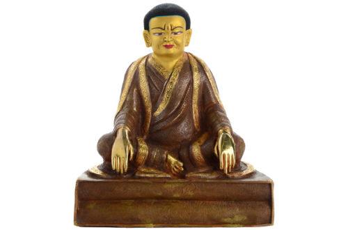 Marpa Statue Feuervergoldet