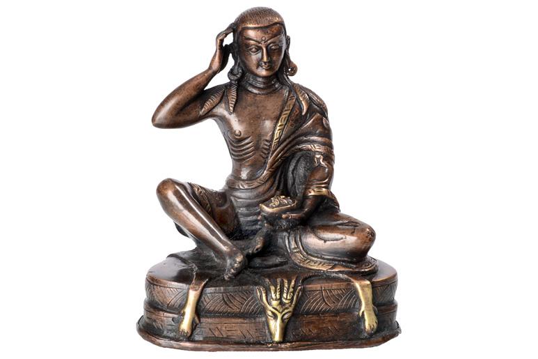 Milarepa Asket Statue