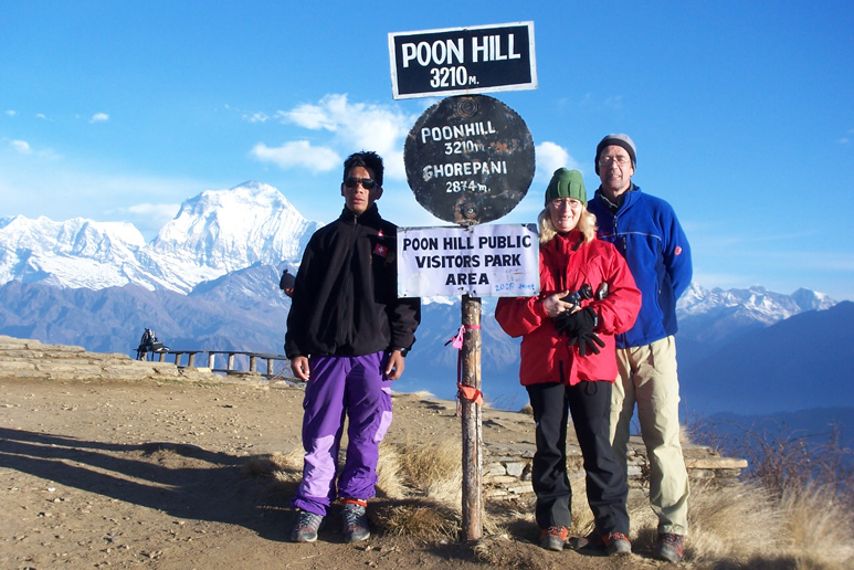 Poon Hill Himalaya, Nepal mit Helga und Billy