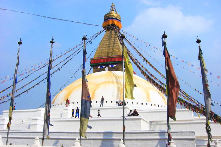 Stupa in Kathmandu, Nepal
