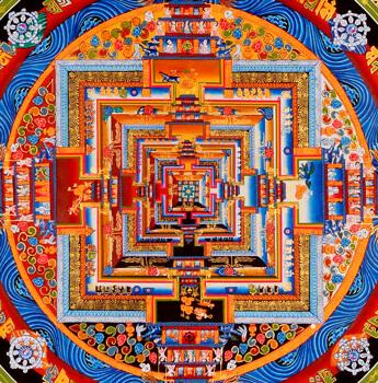 Thangka Mandala Bunt
