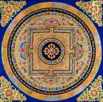 Thangka Mandala Vishvavajra