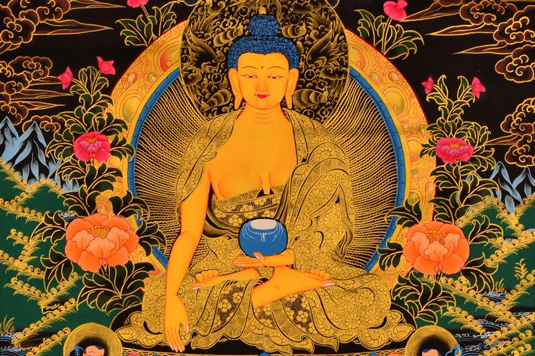 Thangka Shakyamuni