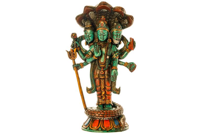 Trimurti Statue Resin