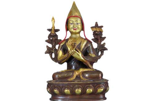 Tsongkhapa Gründer Gelug Schule des tibetischer Buddhismus
